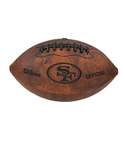 Wilson NFL® San Francisco 49ers Throwback Football - 9