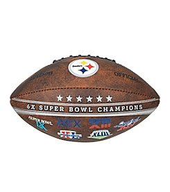 Wilson NFL® Pittsburgh Steelers Commemorative Championship Football - 9