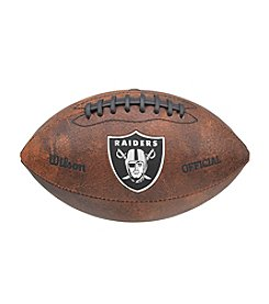 Wilson NFL® Color Throwback Football Oakland Raiders