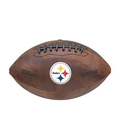 Wilson NFL® Pittsburgh Steelers Color Throwback Football - 9