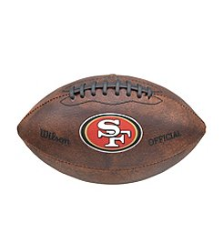 Wilson NFL® San Francisco 49ers Color Throwback Football - 9