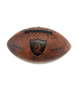 Wilson NFL® Oakland Raiders Throwback Football - 11