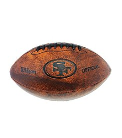 Wilson NFL® San Francisco 49ers Throwback Football - 11