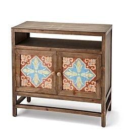 Ruff Hewn Wood Cabinet