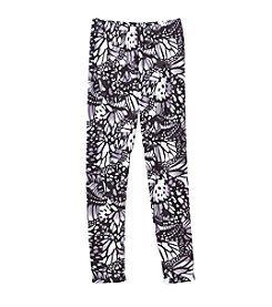Miss Attitude Girls' 7-16 Butterfly Wings Printed Leggings