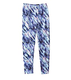 Miss Attitude Girls' 7-16 Feathers Printed Leggings