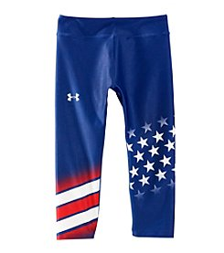 Under Armour Girls' 7-16 USA Country Pride Capri Leggings