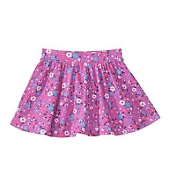 Mix & Match Girls' 2T-6X Floral Printed Skater Skirt