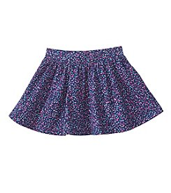 Mix & Match Girls' 2T-6X Confetti Dot Printed Skater Skirt