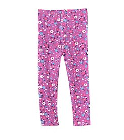 Mix & Match Girls' 2T-6X Floral Printed Leggings