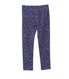Mix & Match Girls' 2T-6X Confetti Dot Printed Leggings