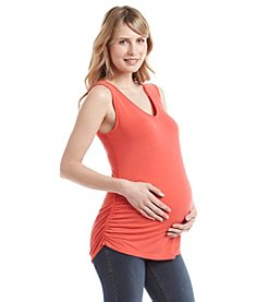 Three Seasons Maternity™ Crochet Shoulder Tank