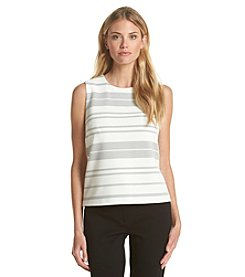 Calvin Klein Striped Shell Top
