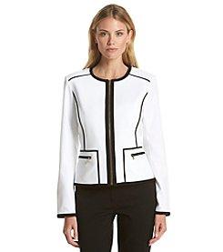 Calvin Klein Black Trim Jacket