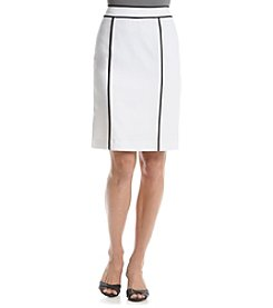 Calvin Klein Black Trim Skirt