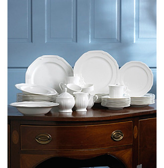 UPC 641265428736 product image for Mikasa Dinnerware Antique White 45 Piece Set | upcitemdb. & UPC 641265428736 - Mikasa Antique White 45-pc. Dinnerware Set ...
