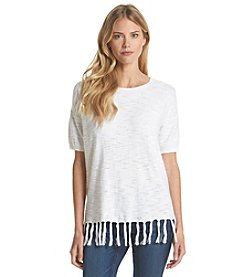 G.H. Bass & Co. Hem Fringe Top