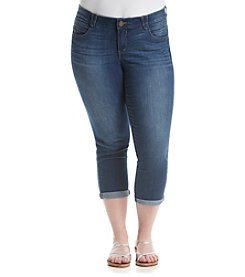 Democracy Plus Size Absolution Uncuffed Crop Jeans