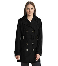 Calvin Klein Petites' Belted Trench Coat
