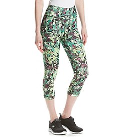 Exertek® Petites' Leaf Crop Leggings