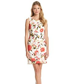 Connected® Floral Patterned Sheath Dress