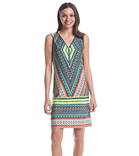 Prelude® A-Line Patterned Dress