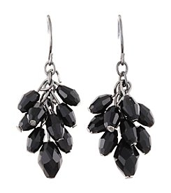 BT-Jeweled Faceted Bead Cluster Earrings