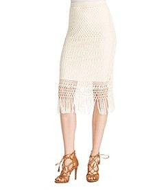 Jessica Simpson Riviera Fringe Skirt