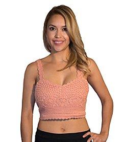 Skylar & Jade™ Crochet Button Back Bralette