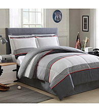 LivingQuarters Levy 4-pc. Comforter Set