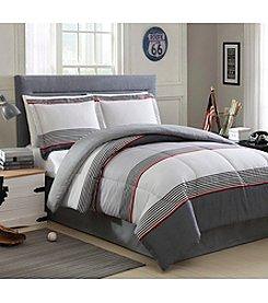 LivingQuarters Levy 4-pc. Comforter Set