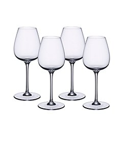 Villeroy & Boch® Purismo Set of 4 Intricate and Delicate Red Wine Goblets