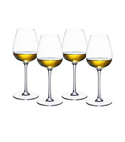 Villeroy & Boch® Purismo Set of 4 Fresh and Light White Wine Goblets