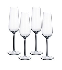 Villeroy & Boch® Purismo Set of 4 Champagne Glasses