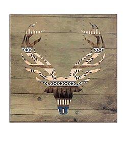 Ruff Hewn Stag Wood Box