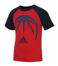 adidas® Boys' 2T-7 Short Sleeve Sport Tee