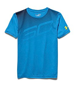 Under Armour® Boys' 8-20 Short Sleeve Drop Dimes Tee
