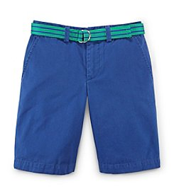 Ralph Lauren Childrenswear Boys' 8-20 Shorts With Belt