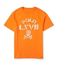 Ralph Lauren Childrenswear Boys' 8-20 Short Sleeve LXVII Graphic Tee