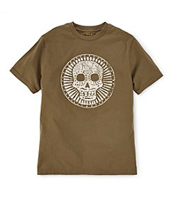 Ralph Lauren Childrenswear Boys' 8-20 Short Sleeve Sugar Skull Graphic Tee