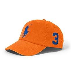 Ralph Lauren Childrenswear Boys' 2T-7 Big Pony Hat