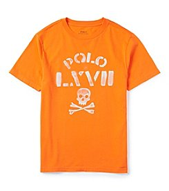 Polo Ralph Lauren® Boys' 2T-7 Short Sleeve LXVII Graphic Tee