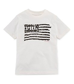 Polo Ralph Lauren® Boys' 2T-7 Short Sleeve Flag Graphic Tee
