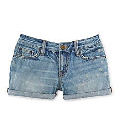 Ralph Lauren Childrenswear Girls' 7-16 Denim Shorts