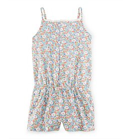 Ralph Lauren Childrenswear Girls' 7-16 Floral Romper
