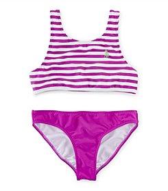 Polo Ralph Lauren® Girls' 7-16 2-Piece Striped Bikini