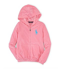 Ralph Lauren Childrenswear Girls' 7-16 Terry Hoodie
