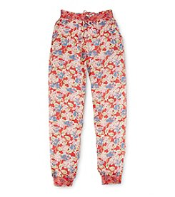 Ralph Lauren Childrenswear Girls' 7-16 Floral Pants