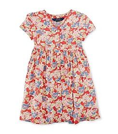 Polo Ralph Lauren® Girls' 7-16 Floral Button Dress
