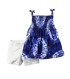 Carter's® Girls' 2T-6X Tie-Dye Tank And Shorts Set